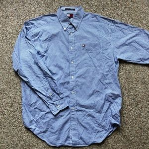 Men's Tommy Hilfiger button down shirt L